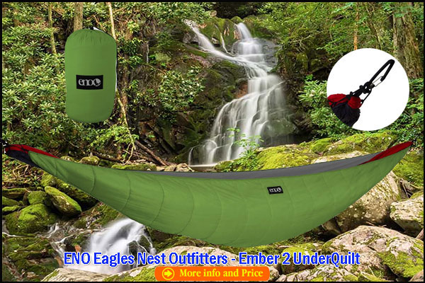 ENO Eagles Nest Outfitters Ember 2 UnderQuilt