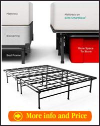 Zinus 14 inch elite SmartBase mattress foundation