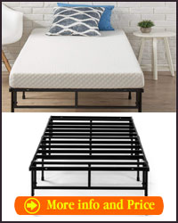 Zinus easy to assemble SmartBase mattress foundation